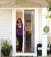 home design 8 retractable screen door installation astound odl brisa for 8