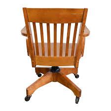 Buy Desk Chair 81 Off Pottery Barn Pottery Barn Swivel Desk Chair Chairs