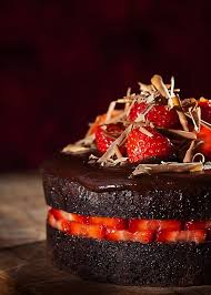 strawberry u0026 chocolate ganached fruit cake u2013 bake a best easy