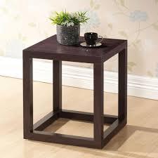 baxton studio hallis dark brown end table 28862 4355 hd the home