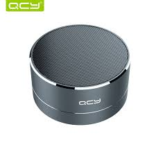 aliexpress qcy qcy a10 wireless bluetooth speaker metal mini portable subwoof sound