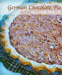 cooking with k german chocolate pie granny u0027s recipe