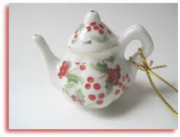 tea with friends november giveaway teacup and teapot ornaments