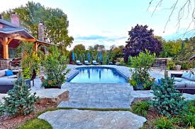 swimming pool landscaping designs sensational impressive backyard