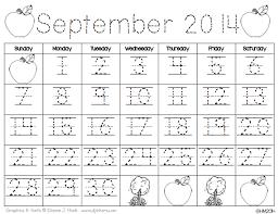 calendar time using interactive calendar notebooks monthly