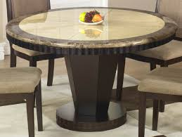 dark wood round dining table candresses interiors furniture ideas