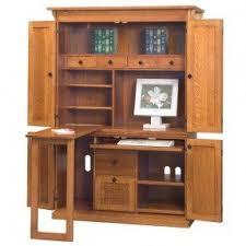 Computer Hutch With Doors Computer Armoires U0026 Hutches Foter