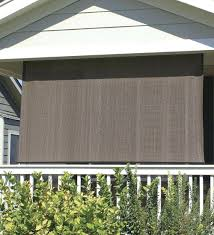 Sun Porch Curtains Roll Up Shades Canvas Outdoor Porch Exterior Patio Blinds Lowesi