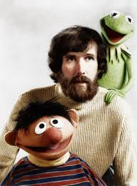 jim henson together with ernie and kermit the frog by zuzahin on