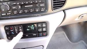 1997 03 buick regal climate control display repair part 3 youtube
