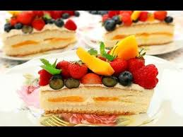 how to make birthday cake with cream and fresh fruit 雜果生日