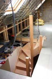 loft stairs option for conversion with limited head height