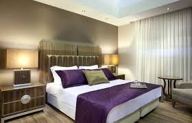 purple and brown bedroom bold color schemes for bedrooms