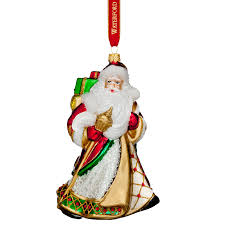 waterford nostalgic miraculous santa ornament 2017 silver superstore
