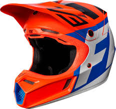 motocross helmet with face shield fox racing youth v3 creo mips mx motocross helmet ebay