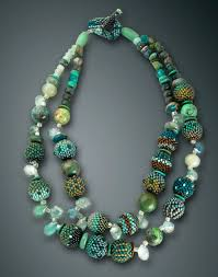 double strand beaded necklace images 2 strand beaded necklace julie powell design jpg