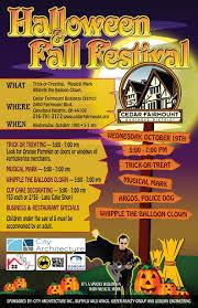 fall halloween pics 2016 halloween u0026 fall festival cedar fairmount special