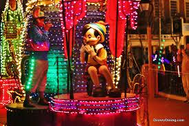 electric light parade disney world pinocchio float electrical light parade magic kingdom walt disney
