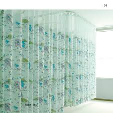 inherently flame retardant printed cubicle hospital curtains 1008