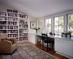 bookshelf with desk built in ikea home office contemporary with