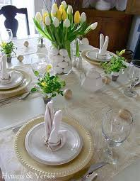 table decoration 45 creative and easy easter table decoration ideas