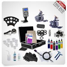tattoo kit without machine professional 2 x iron machines intenze tattoo kit