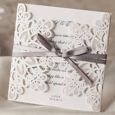 wedding invitation cards 10pcs lot laser cut wedding invitations wedding