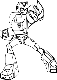 transformers fight coloring page wecoloringpage