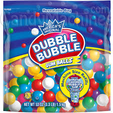 where can i buy gumballs buy dubble gumball refill 53 oz vending machine