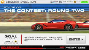 corvette stingray evolution stingray evolution stage 05 goal 4 of 5 racing 3 corvette z51