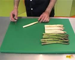 cuisiner asperges fraiches préparer des asperges la technique en vidéo
