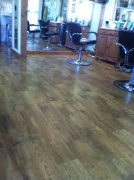 Laminate Linoleum Flooring Amazing Linoleum At My Hair Salon Looks And Feels Like Wood