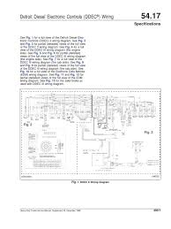 ddec ecm iii wiring diagram detroit diesel wiring diagrams