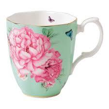 miranda kerr for royal albert friendship mug green royal albert