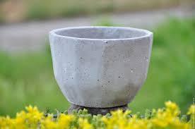 Buy Planters Buy Flower Pot Made Of Concrete Faces Loft Style Minimal Under A