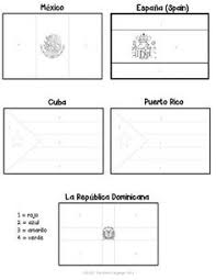 surprising ideas spanish speaking countries flags coloring pages