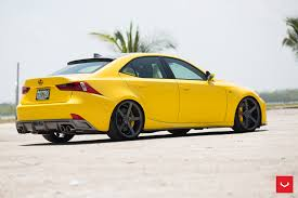 lexus yellow lexus is cv3r graphite vossen wheels 2015 1046