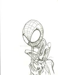 photos pencil sketch spider man drawing art gallery