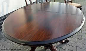 Ebay Chippendale Esszimmer Warrings Chippendale Esszimmer Tisch 6 Stühle Antik Alt Leder Top