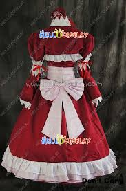 Black Butler Halloween Costumes Black Butler Cosplay Elizabeth Ethel Cordelia Midford Red Dress