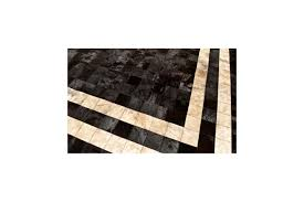 Patchwork Cowhide Rug Brown Patchwork Cowhide Rug With Beige Double Line κ 1773 Fur Home