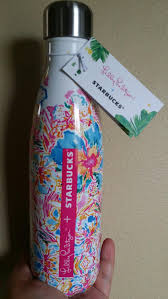 best lilly pulitzer for starbucks s u0027well bottle new for sale in