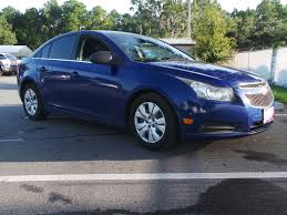 nissan versa vs chevy cruze pre owned 2012 chevrolet cruze ls 4dr car in jacksonville 72278a