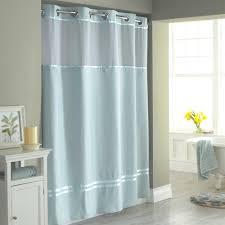 glass shower curtain bathroom design