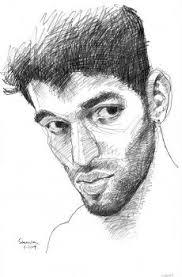 artfido buy art online pencil sketch portrait of young man