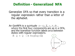 what do we know dfa u003d nfa u003d nfa we have seen algorithms to