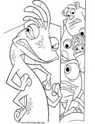 monsters coloring picture coloring activities