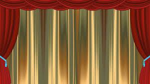 classic gold curtain animation premium video youtube