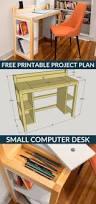 Small Computer Desk Ideas Homemade Computer Desk Diy Wood Best Custom Ideas On Pinterest
