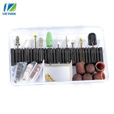 victool professional manicure pedicure kit nail bits for electric